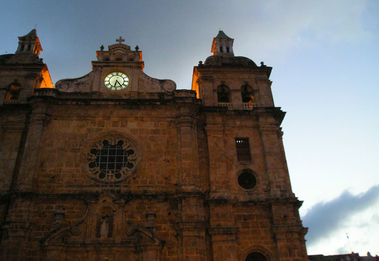 Cartagena church. What's Cartagena (Colombia) like? Here's why it's incredible