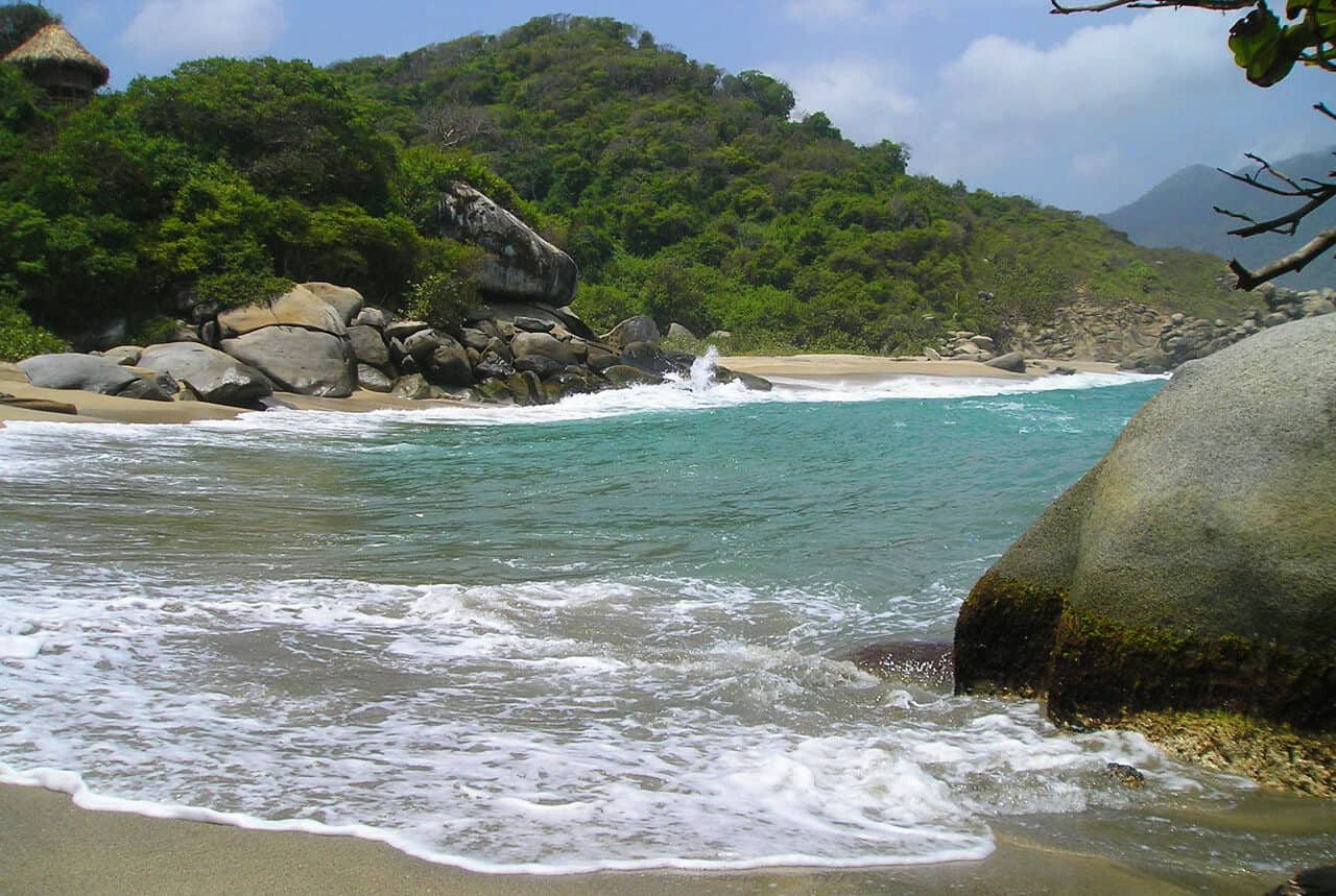 A night at the Eco-Habs in Parque Tayrona Colombia