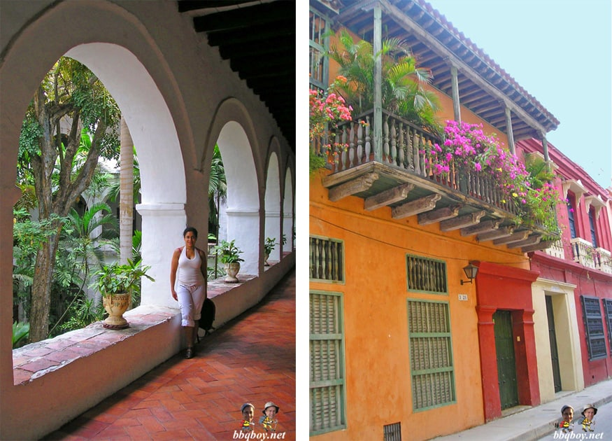 colors in cartagena, colombia