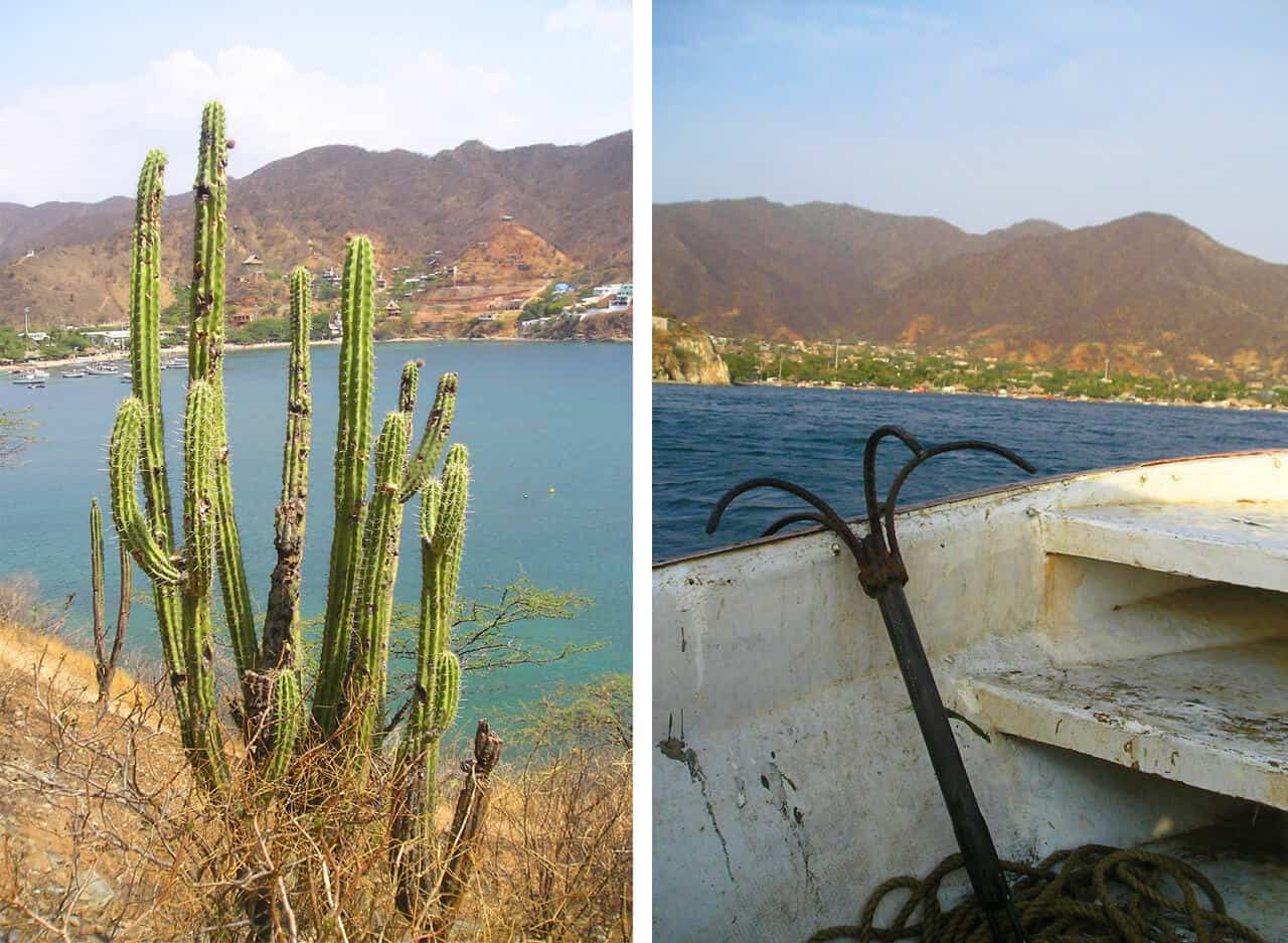 views in Taganga. Safety. And why Taganga (Colombia) is worth a Visit