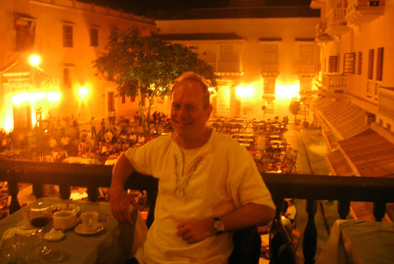 eating out in Cartagena Colombia