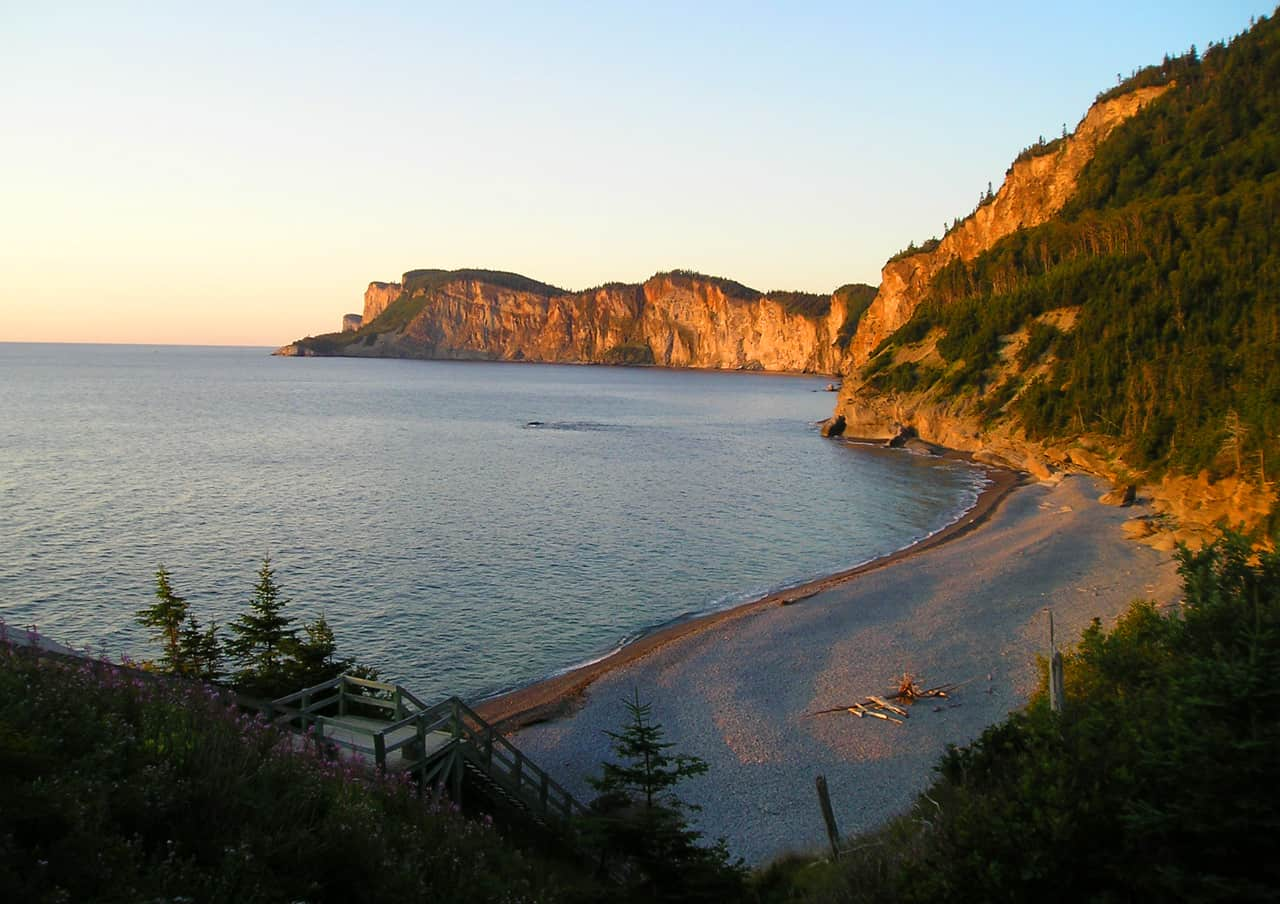 Forillon National Park. Highlights of a family road trip to the Gaspé