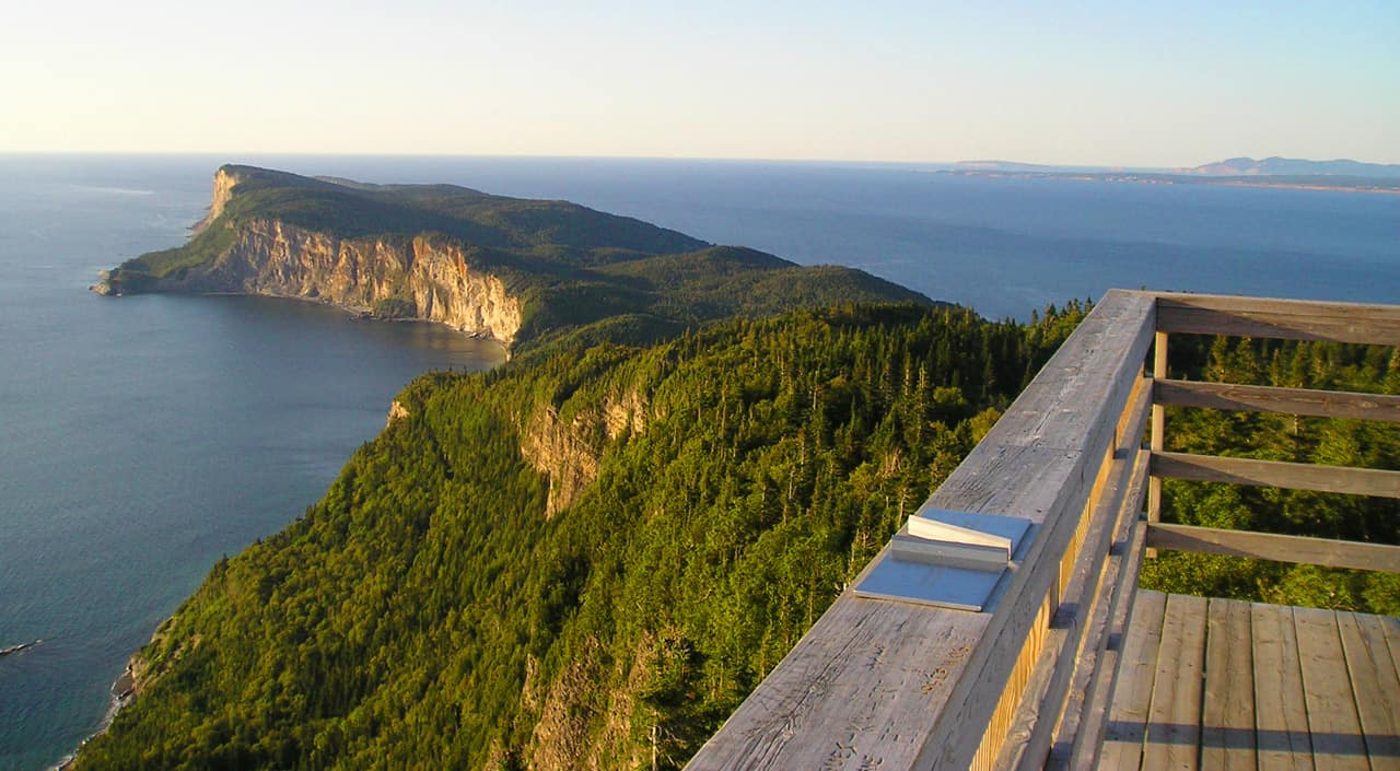 Highlights of a family road trip to the Gaspé Quebec.