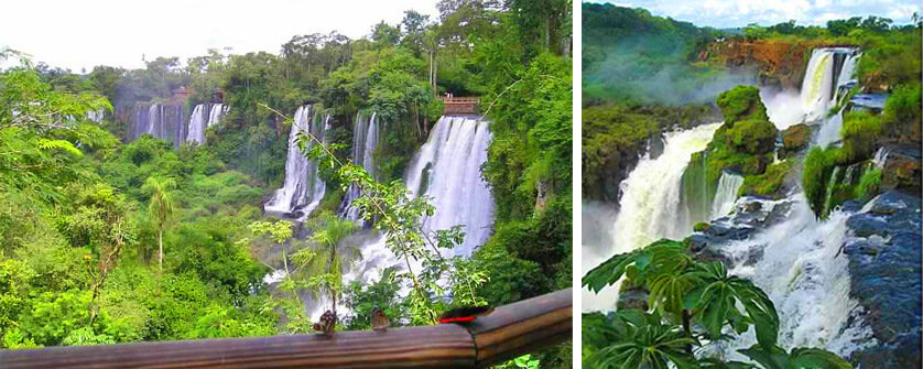 Argentinian side Iguazu. Which side is better? And Where to Stay