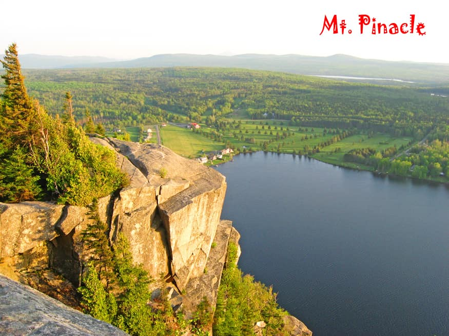 Our favorite Eastern Townships hike – Mt. Pinacle, Quebec