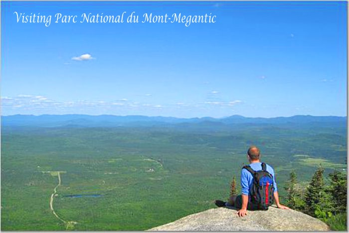 Visiting Parc National du Mont-Megantic, quebec