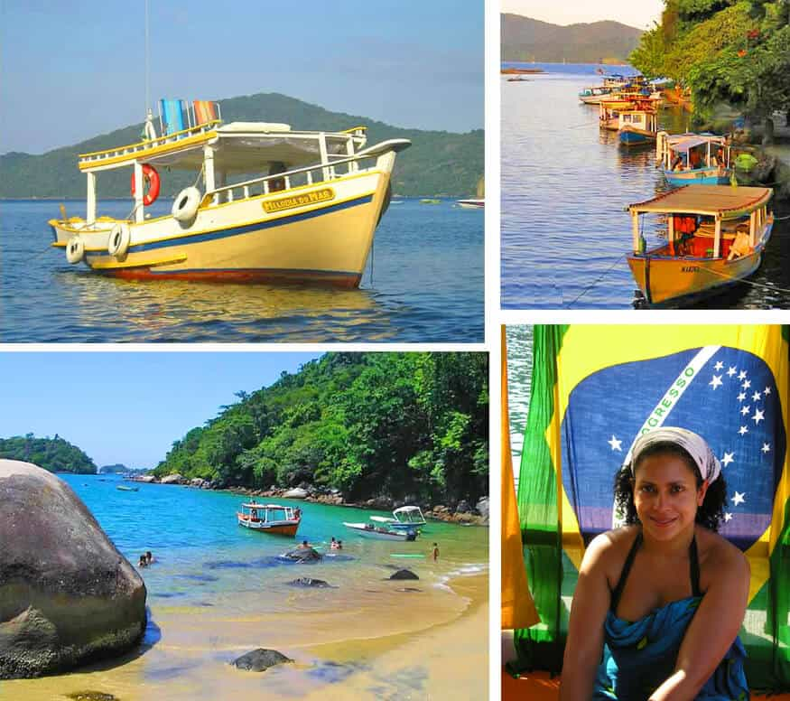 images of Paraty, Brazil
