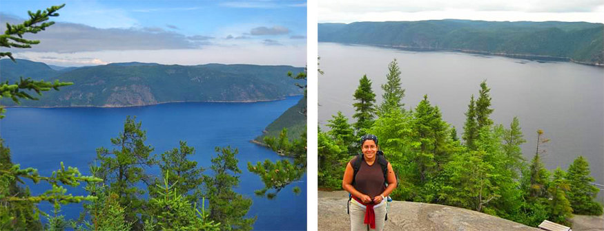 Cap Trinite hike, Parc national du Fjord-du-Saguenay, Quebec
