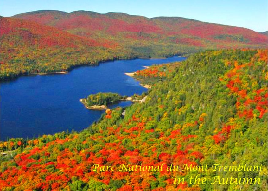 Parc National du Mont-Tremblant, Quebec in the Autumn