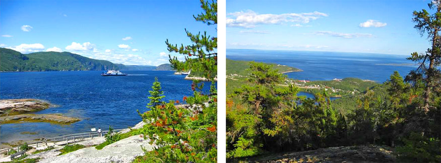 hiking trails in tadoussac, quebec