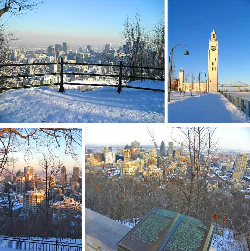 images of montreal in the winter