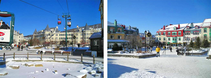 mont tremblant village, quebec