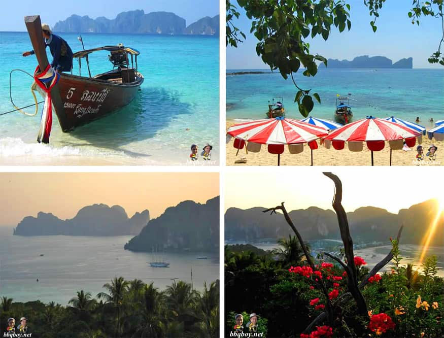 photos of ko phi phi, thailand