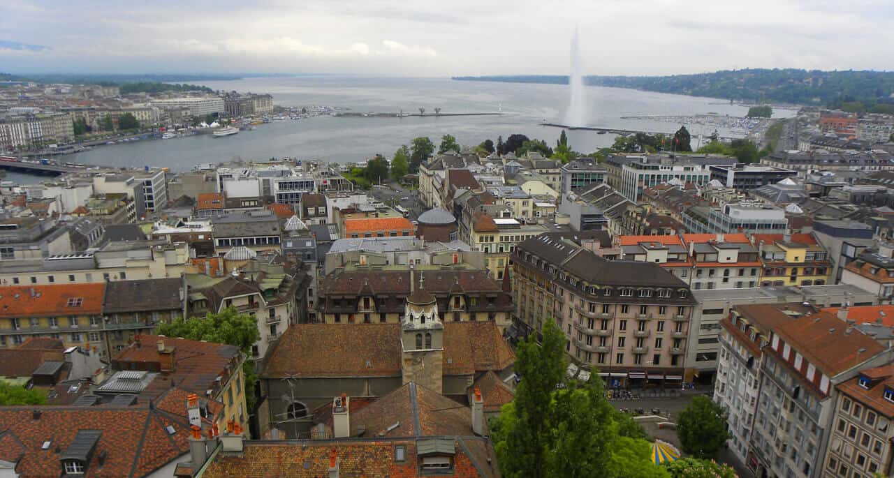 Highlights - and a night out - in Geneva