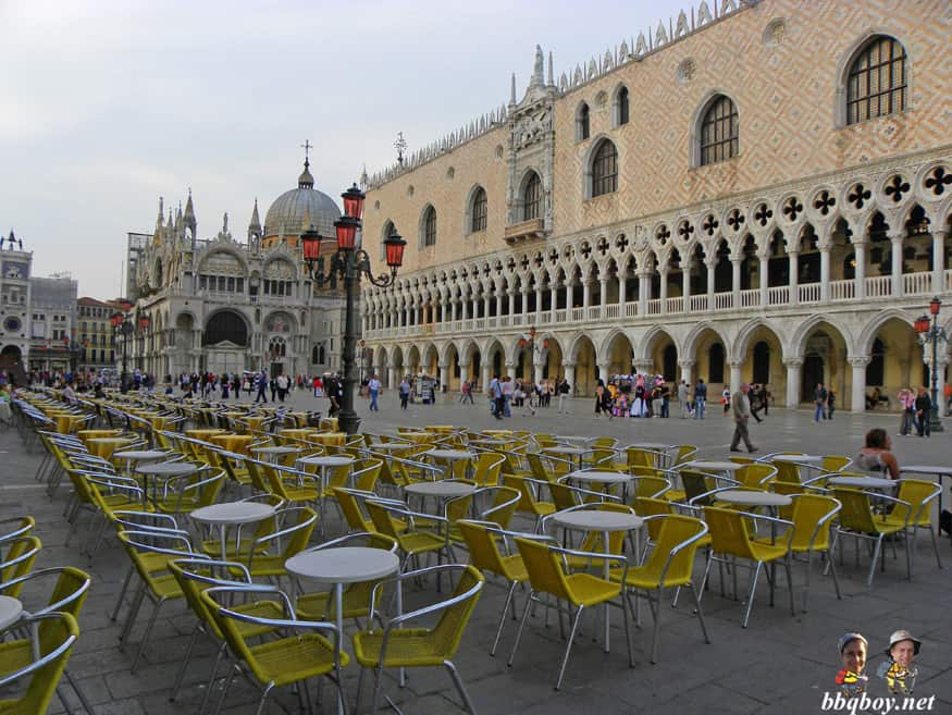 Piazza San Marco, St. Mark's square, venice, italy