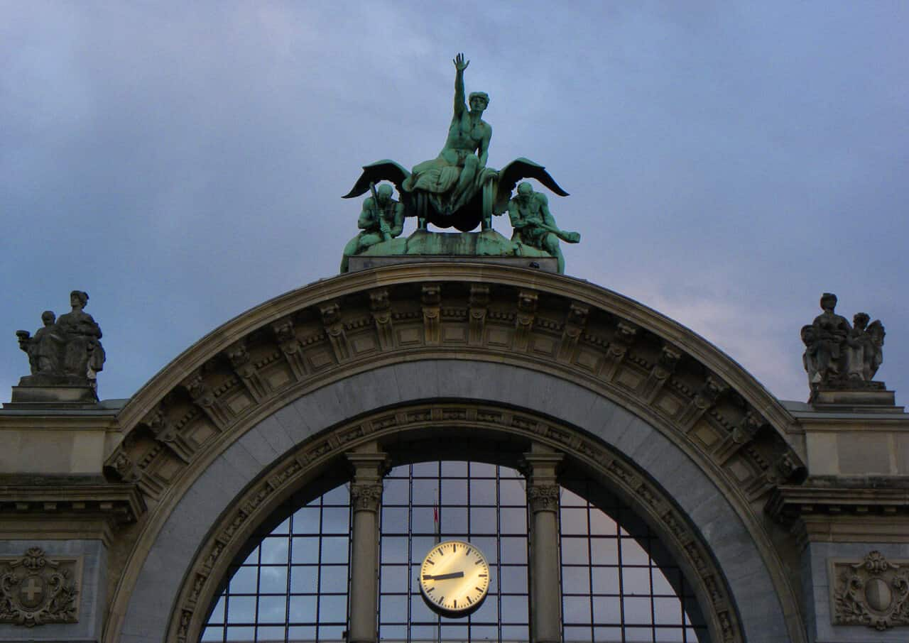 Lucerne train station. Feeling ripped off and unhappy in Lucerne, Switzerland