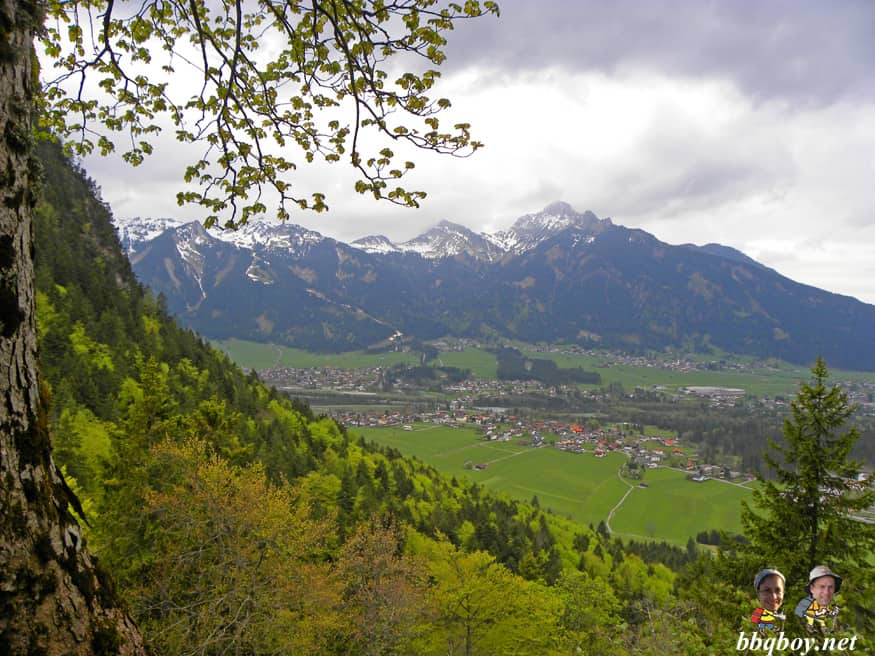 views from the Ehrenberg ruins, Reutte, Austria