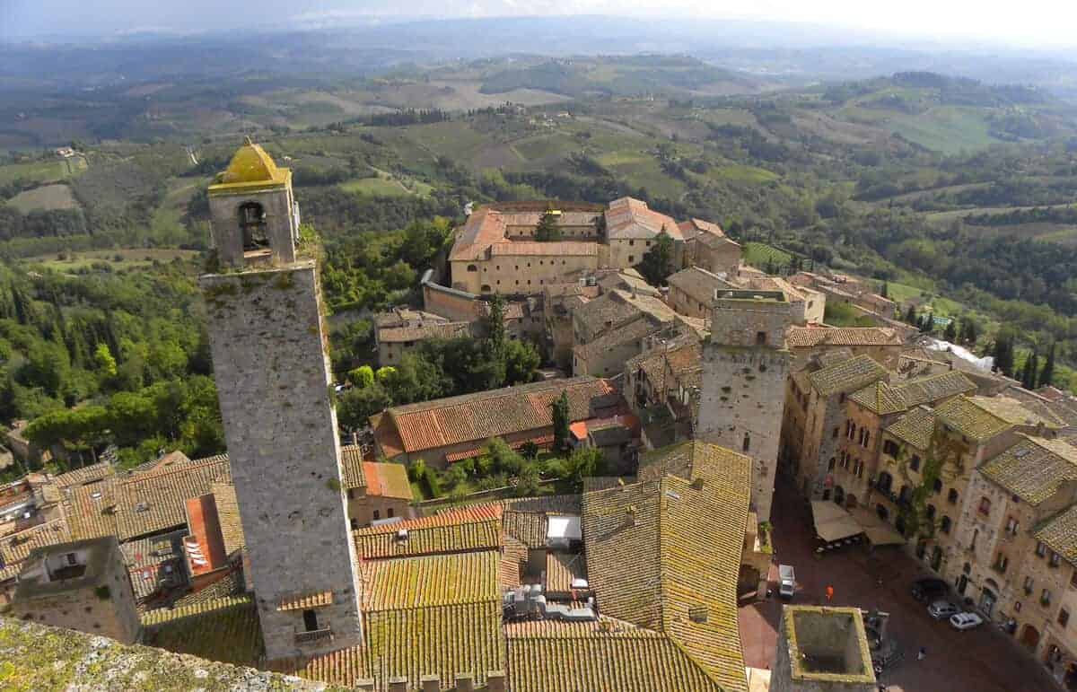 A trip through the hilltowns of Tuscany