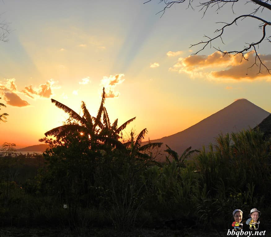 Lake Ometepe sunset