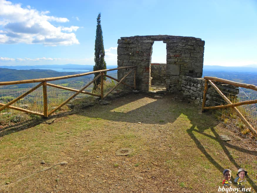 views from Fortezza Medicea di Girifalco, Cortona, Italy (1)