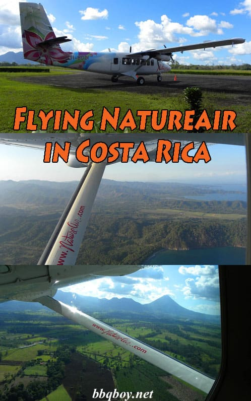 Flying Natureair in Costa Rica