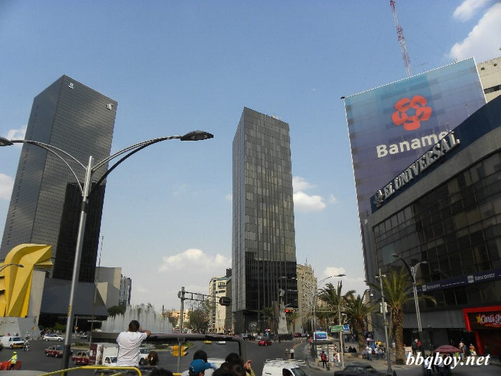 Mexico City towers