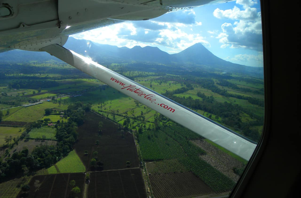 Flying Natureair in Costa Rica....