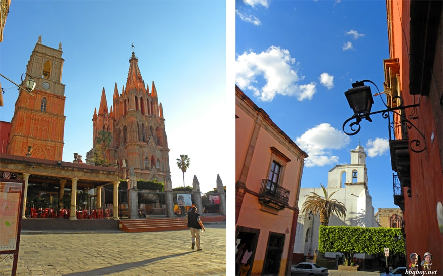 churches in san miguel de allende, mexico