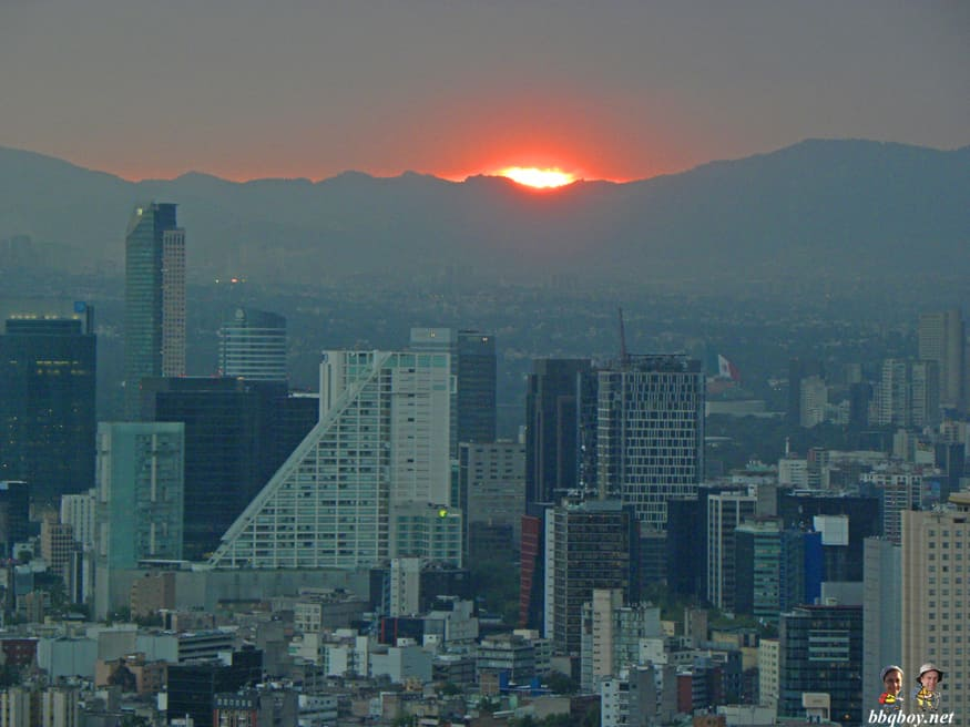 views from the Latinoamericano tower, mexico city (3)