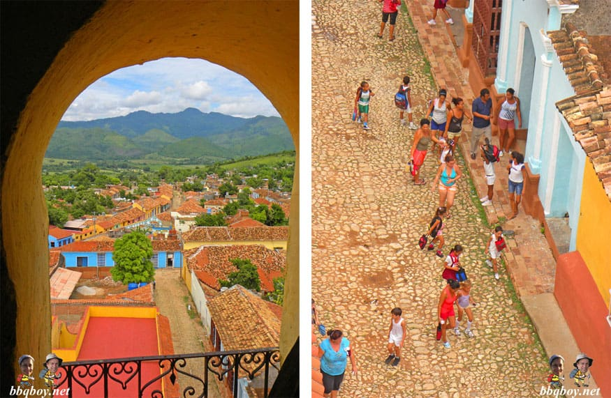 views in Trinidad, Cuba