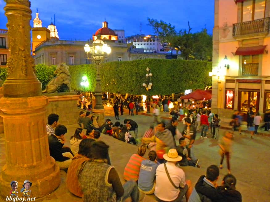 views on the zocalo in guanajuato, Mexico (2)