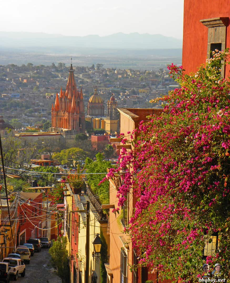 views over san miguel de allende, mexico