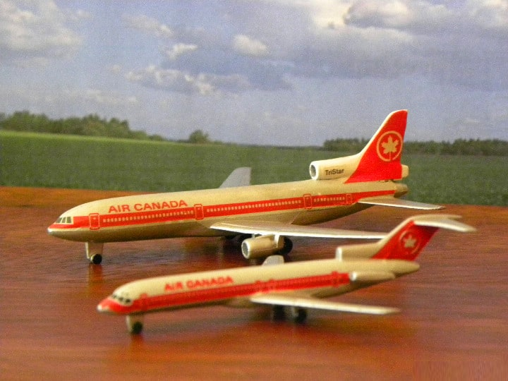 Schabak und Herpa. My Plane collections