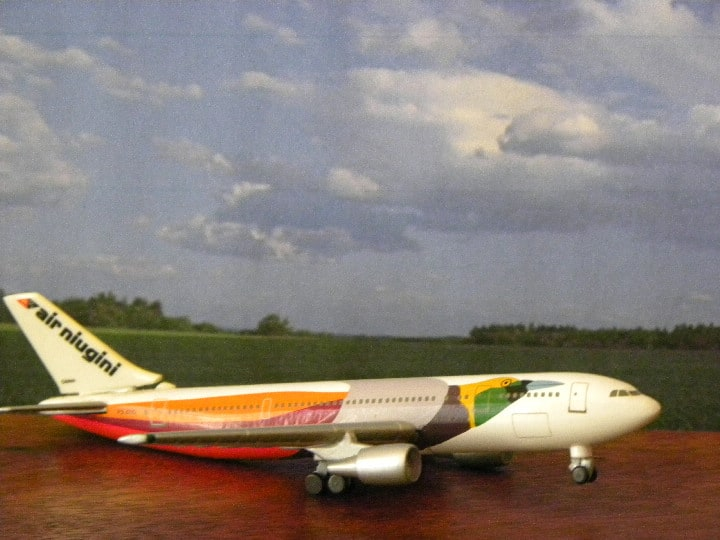 AN A310. Schabak und Herpa. My Plane collections…