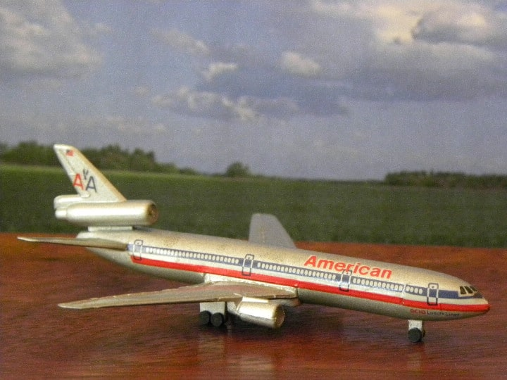 American DC10. Schabak and Herpa. My Plane collections…