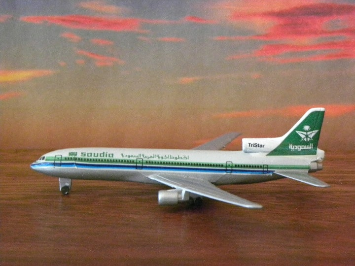 Saudi L-1011. Schabak and Herpa. My Plane collections…