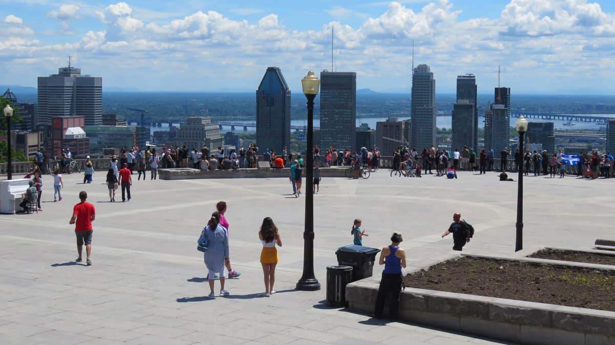 The Best Views on Montreal's Mont-Royal.