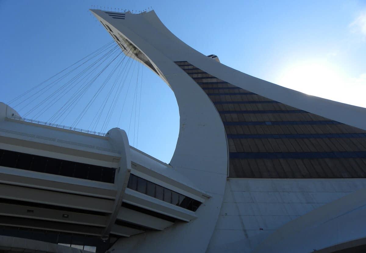 Visiting Montreal's Olympic Stadium
