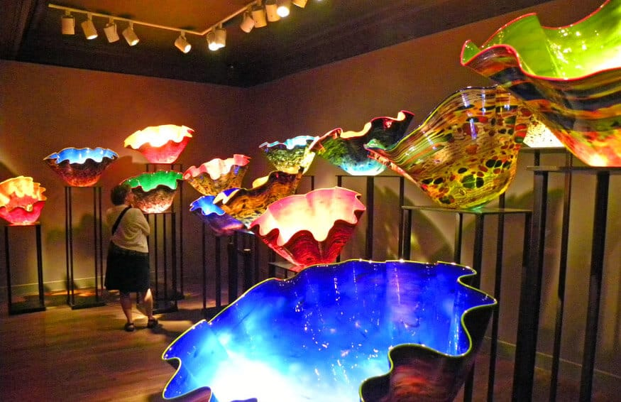 The Montreal Museum of Fine Arts. Chihuly exhibit
