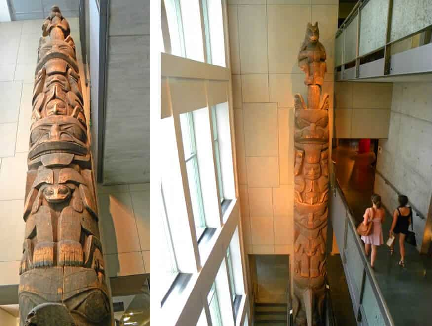 totem poles in the McCord Museum. The Best Montreal museums