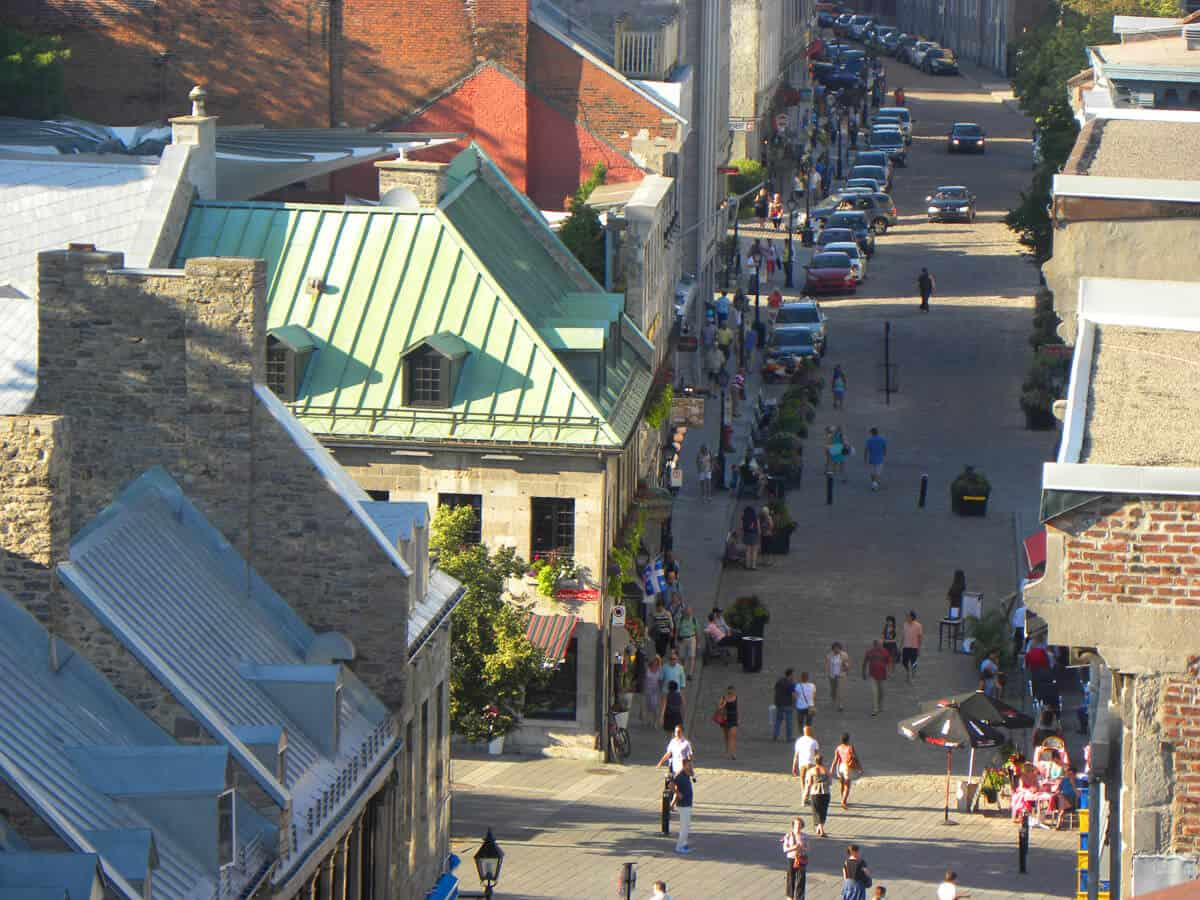 Auberge du Vieux Port . 3 bars with the best views in Old Montreal