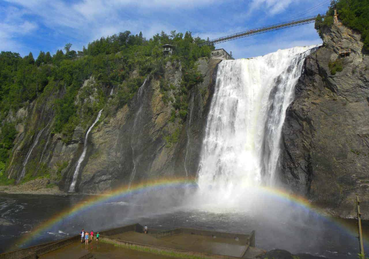 Airbnb In Cuba Visiting The Montmorency Falls Quebec