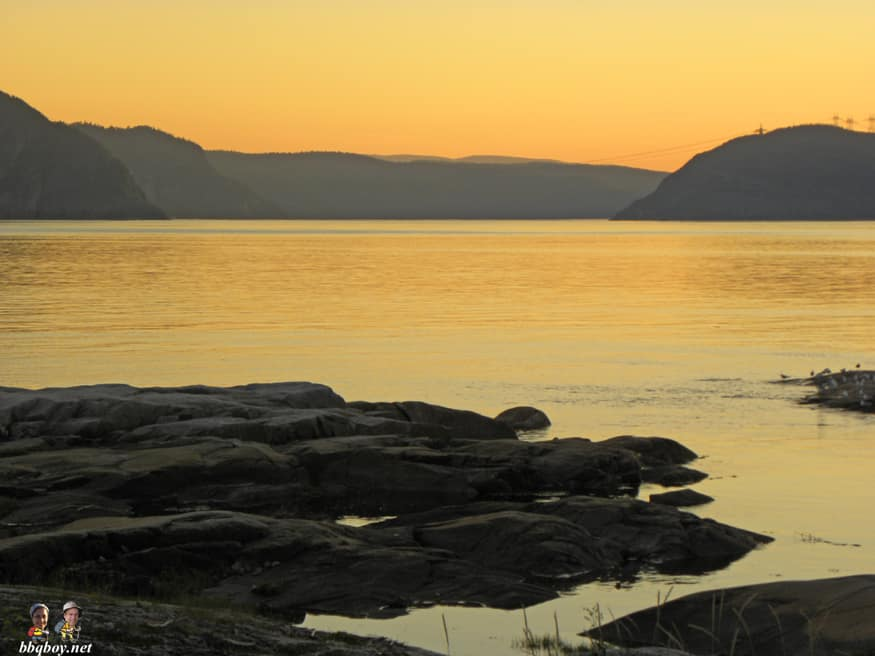 views of Saguenay in Tadoussac, Quebec (1)
