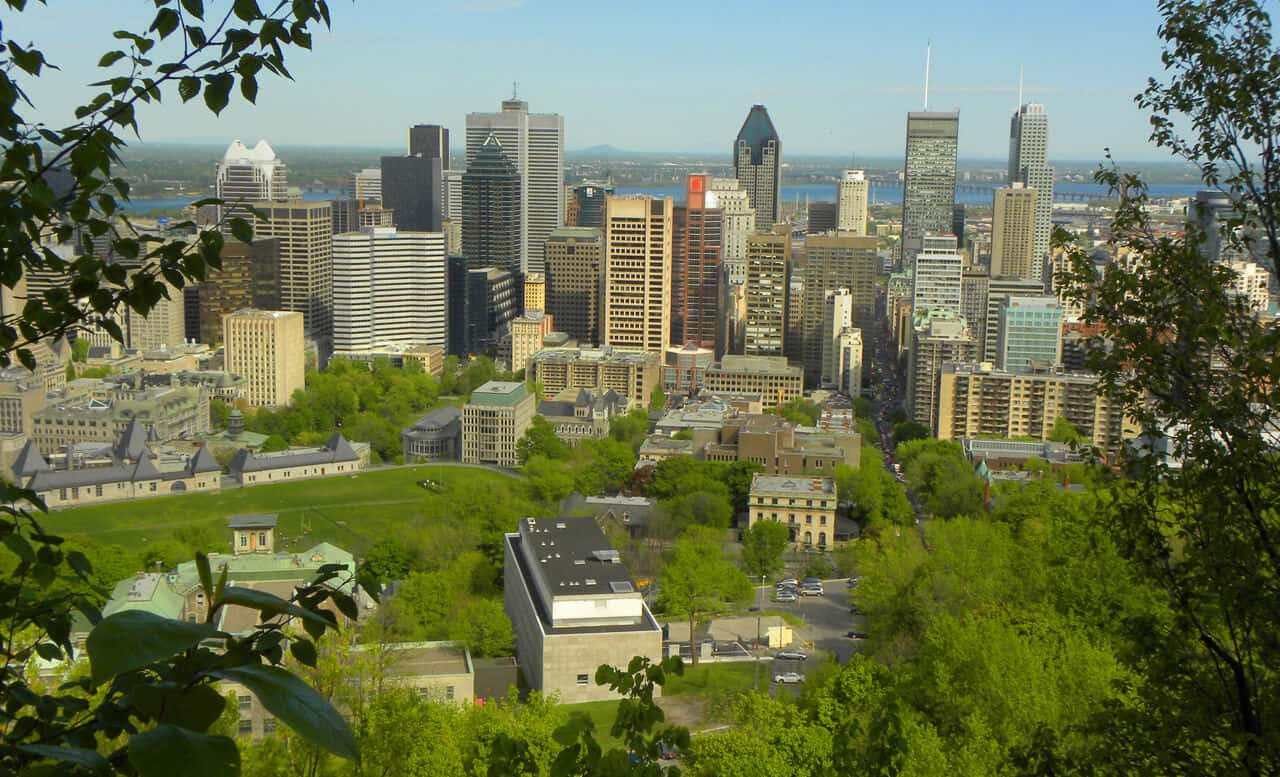Beautiful Montreal in the summer
