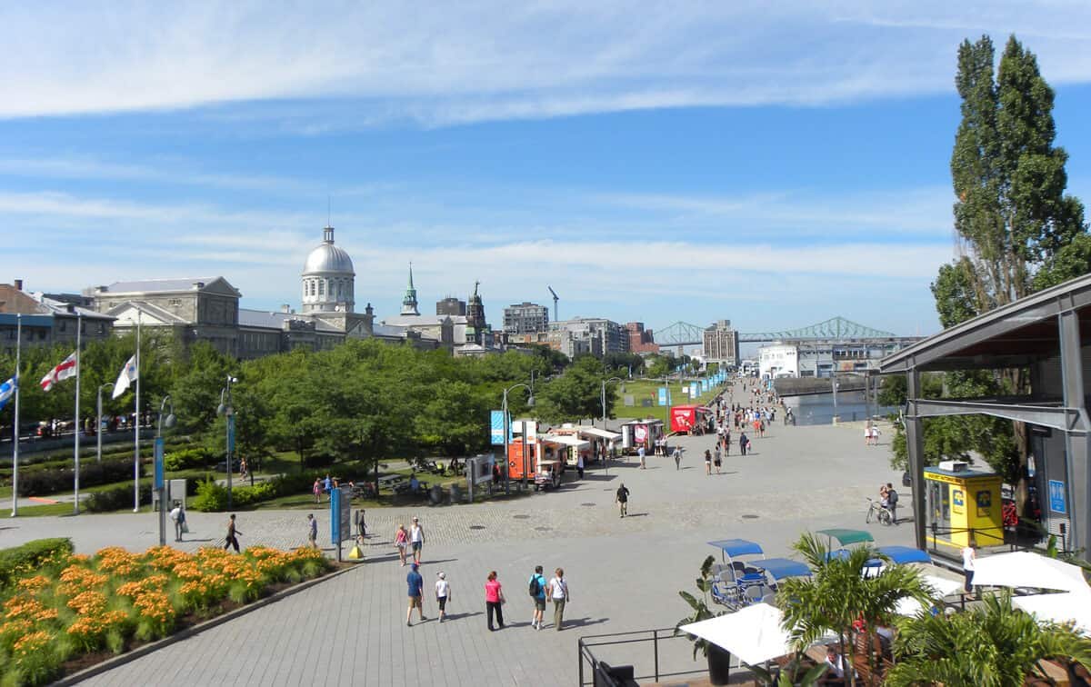 Place Jacques Cartier in Old Montreal