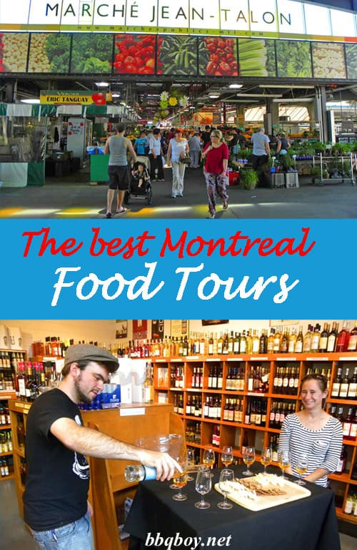 The best Montreal food tours