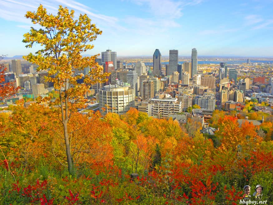 October in Montreal