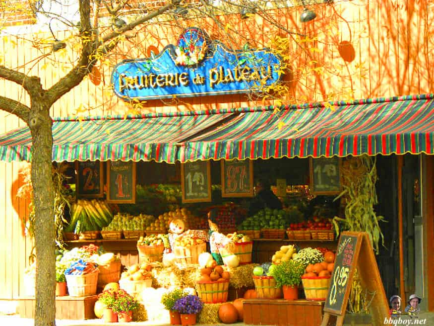 fruiterie, Autumn in Montreal