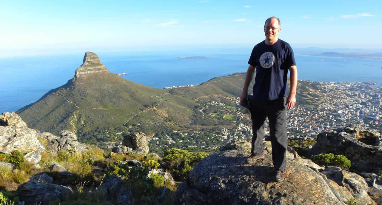 Hike up Table Mountain. Things to do in Cape Town
