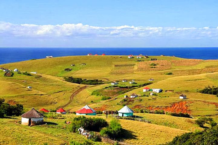 Xhosa-villages-transkei, south africa